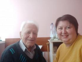 Петро Мартинюк й Леся Бондарук