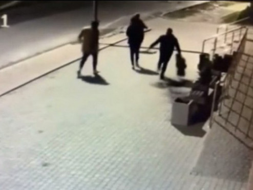 Скріншот відео з камер спостереження
