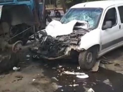 Поблизу села Всеволодівка сталася страшна аварія за участю трактора та білого «чобітка»