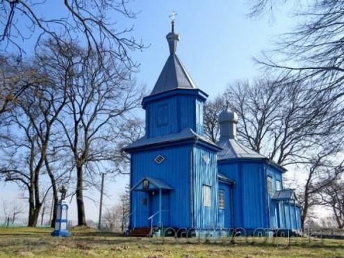 Церква у селі Вощатин