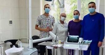 У стоматологічному кабінеті - нове обладнання