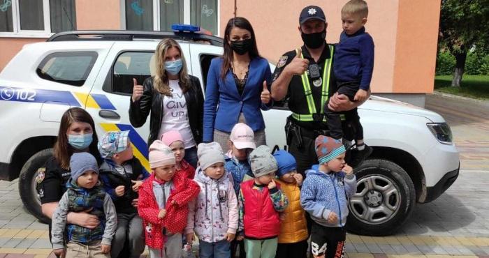 Поліцейські у садочку «Казка»