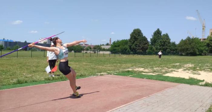 lV етап  кубку України з легкоатлетичних метань