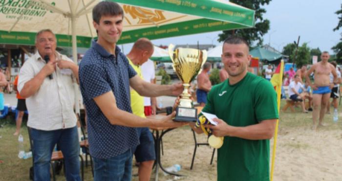 У Світязі, на центральному пляжі, відбувся турнір з пляжного футболу «Кубок Світязя».
