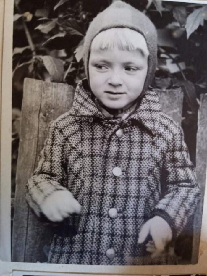 Віктор Редька в дитинстві
