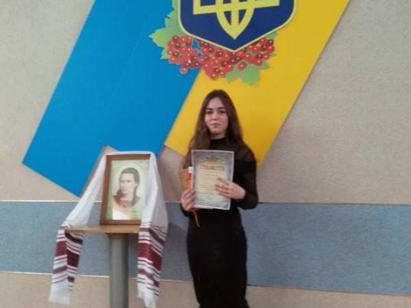 Школярка з Устилуга стала переможницею обласного конкурсу читців поезій Лесі Українки