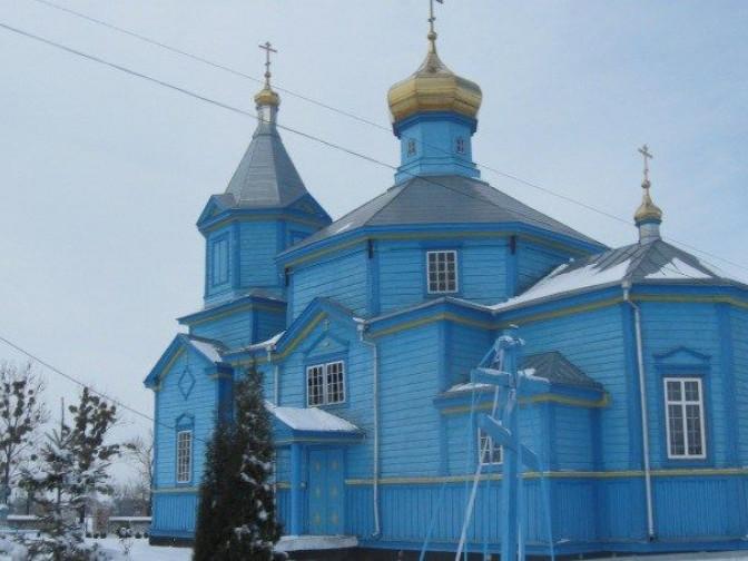 Свято-Василівська церква в селі Красностав
