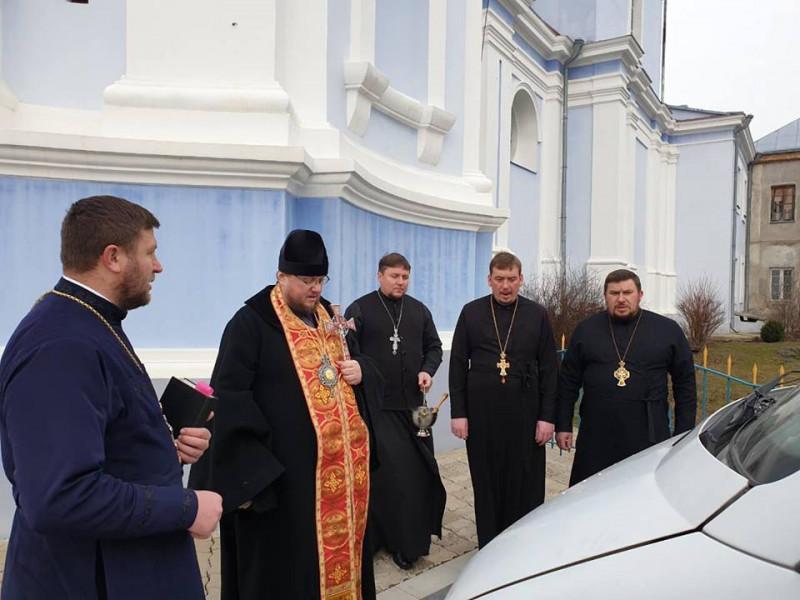 Капелани Володимирщини вирушили на Схід