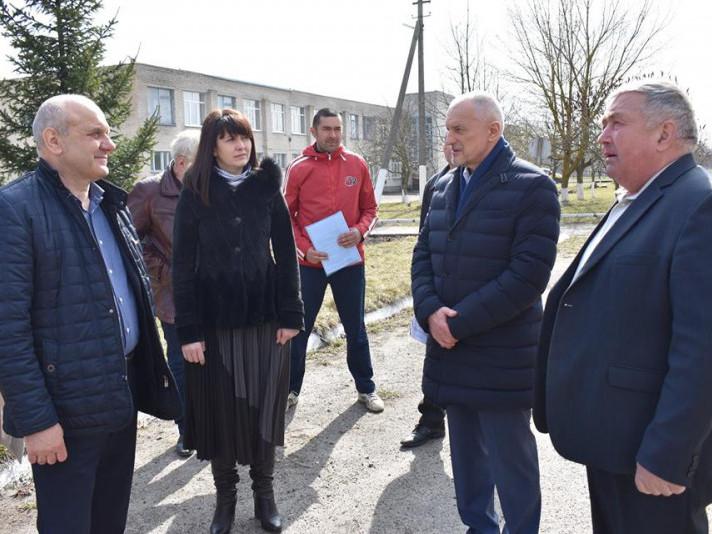 Що інспектував голова Волинської ОДА на Володимирщині