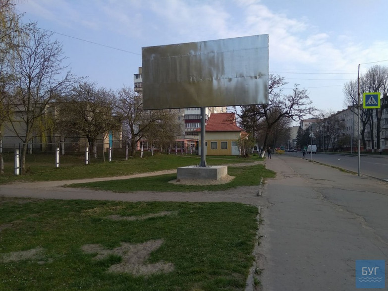 Білборд, вулиця Ковельська