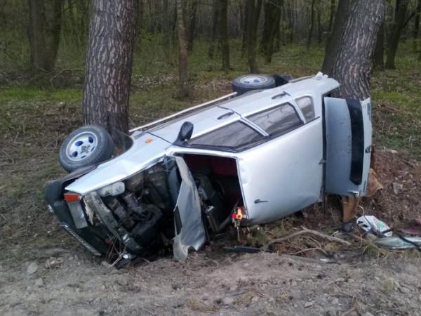 На трасі Луцьк - Устилуг автівка «влетіла»у дерево