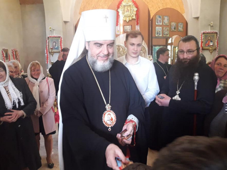 Княже місто відвідали екс-керівники Володимир-Волинської єпархії