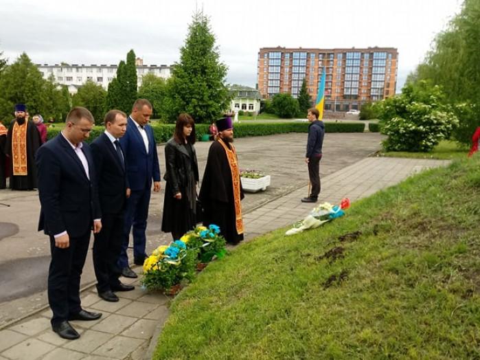 У Володимирі-Волинському вшанували Великого Кобзаря