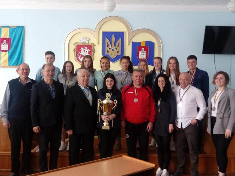 На Волині вітали футболісток– володарок Кубка України з футзалу