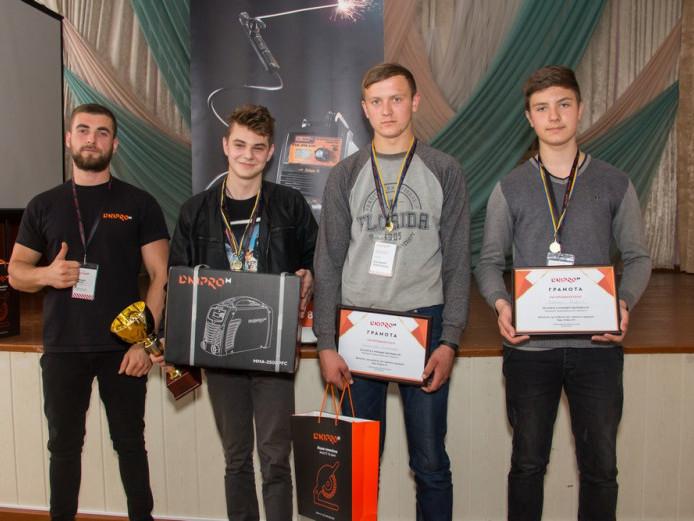 Переможці конкурсу «Кращий зварювальник Dnipro-M»