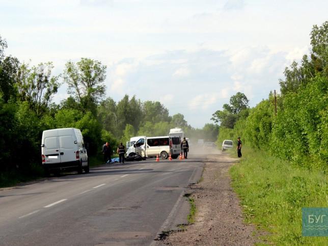 На волинській трасі трапилась смертельна аварія