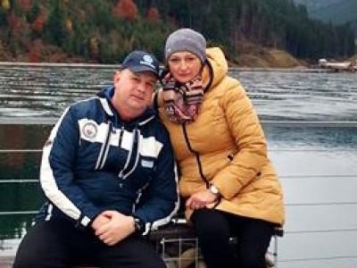 Олександр Мазурок з дружиною
