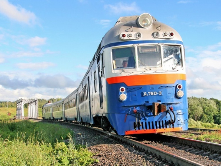 Поїзд / Фото ілюстративне