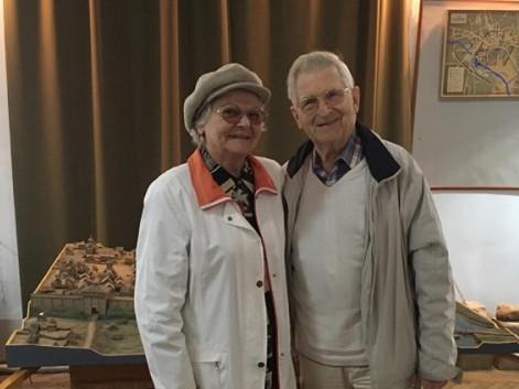Єжи Сакєвіч з дружиною Мирославою