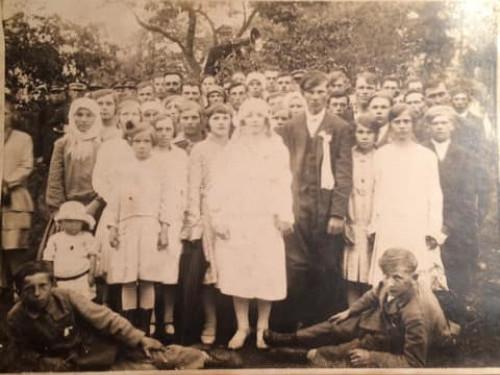 Весілля у селі Кладнів