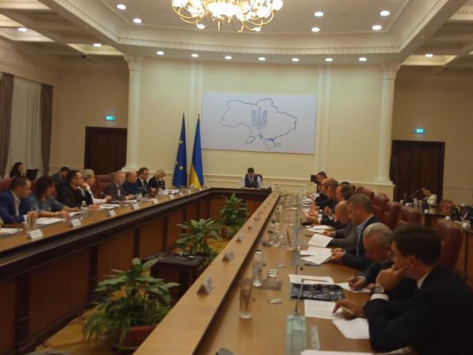 Спільне засідання членів Правління Асоціації міст України з Прем'єр-міністром