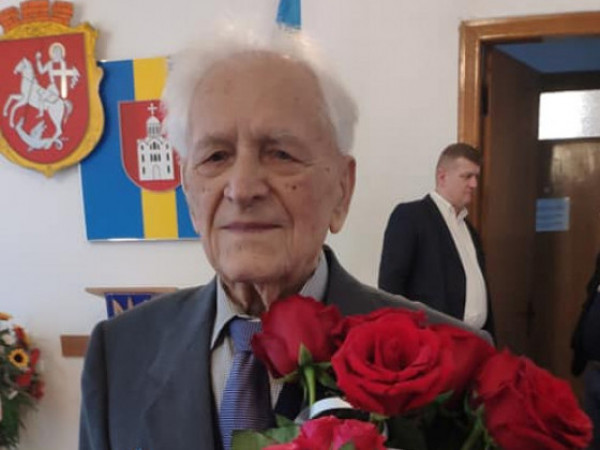 Ветеран УПА Петро Мартинюк