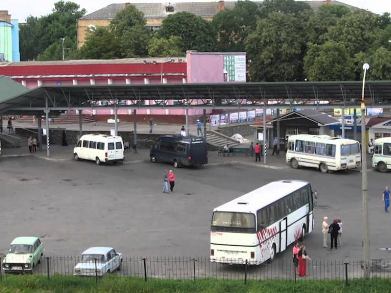 Автостанція у Володимирі