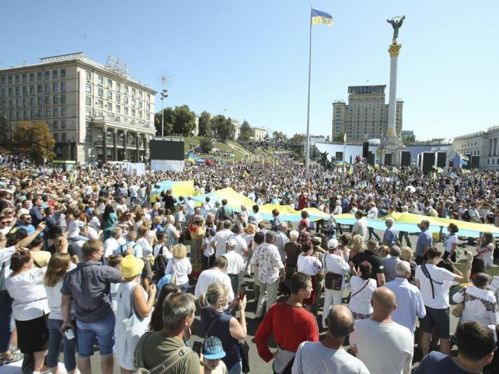 День Незалежності на головному майдані України