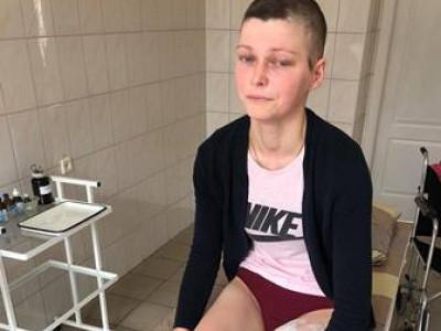 Молодій жінці ампутували ногу