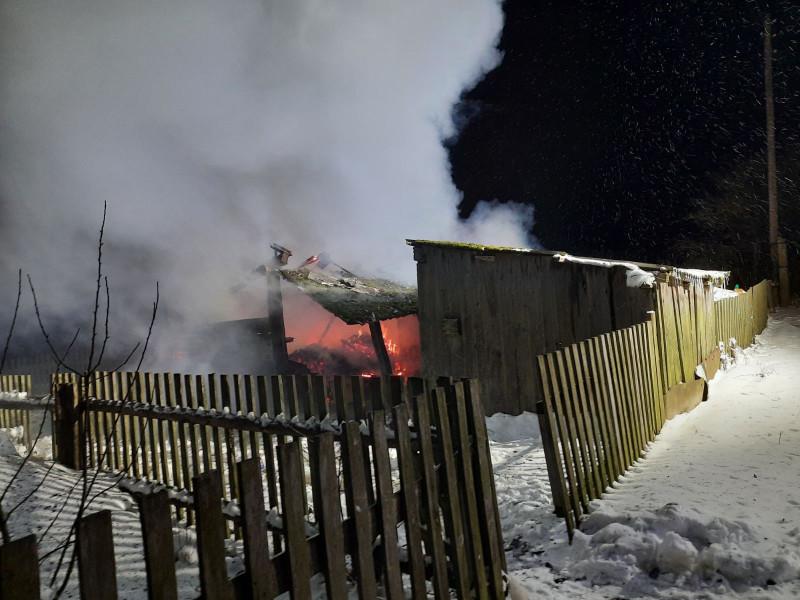 Пожежа в селі Турівка