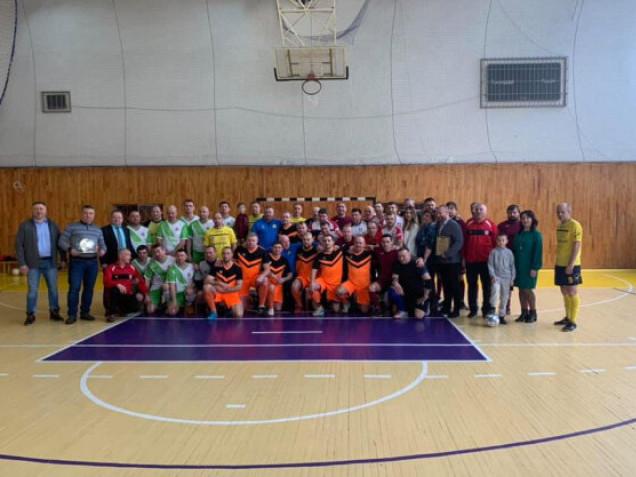 У Луцьку розпочався турнір з футзалу серед ветеранів пам'яті Миколи Романюка