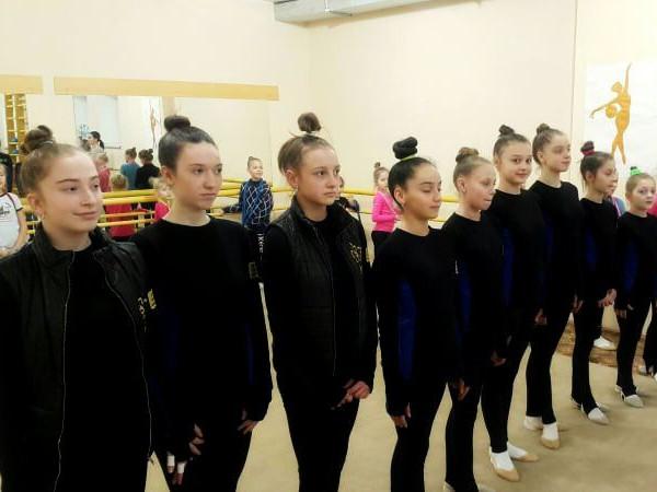Володимирські гімнастки