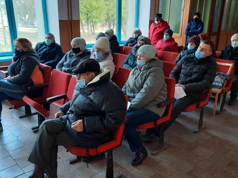 Збори в селі Ласків