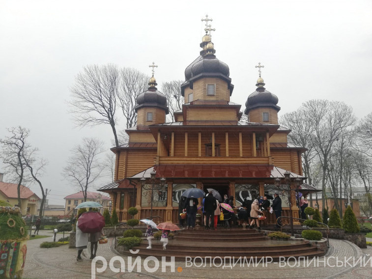 Храм святих мучениць Віри, Надії, Любові та матері їхньої Софії