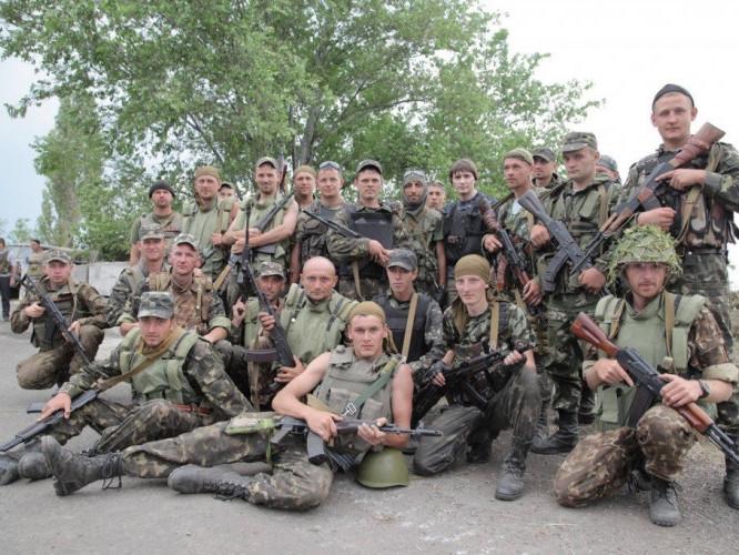 Бійці 51 омбр. Літо 2014