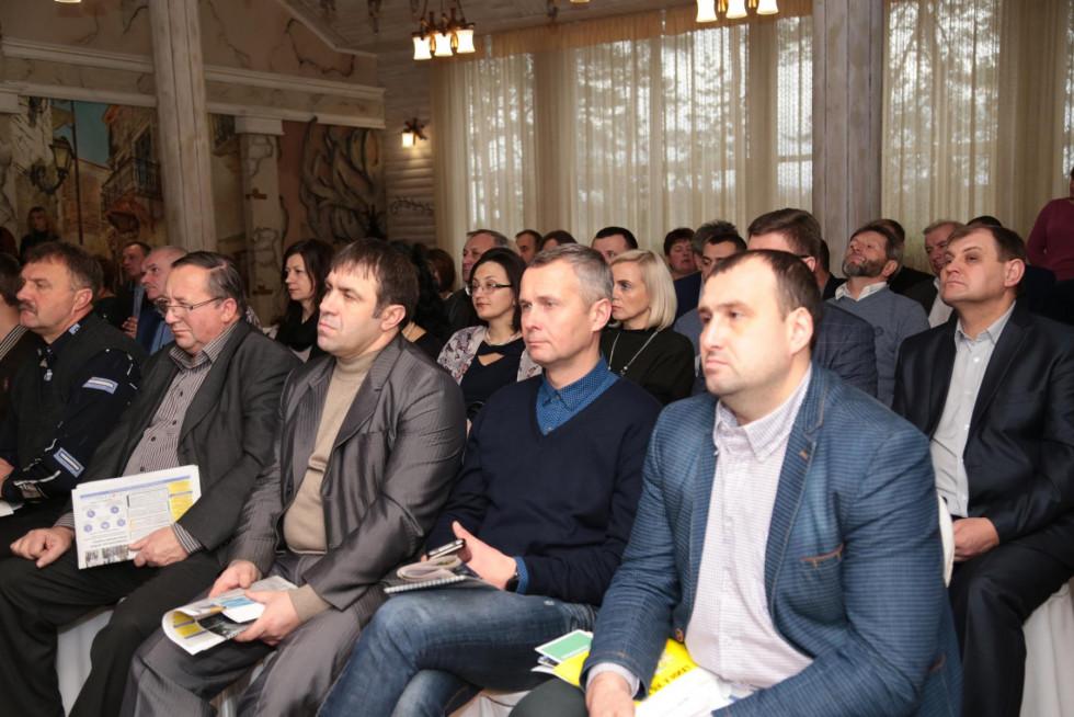 На захід запросили представників громад округу, депутатів облради, а також місцевих журналістів та громадських активістів.