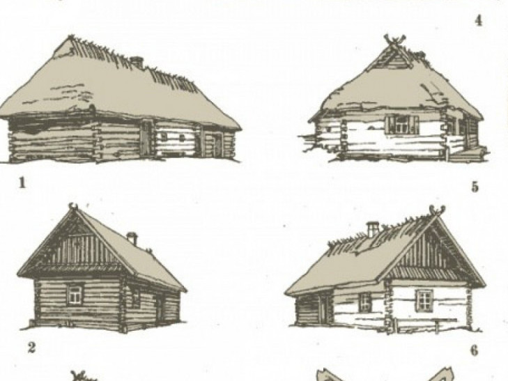 Історія українських хат