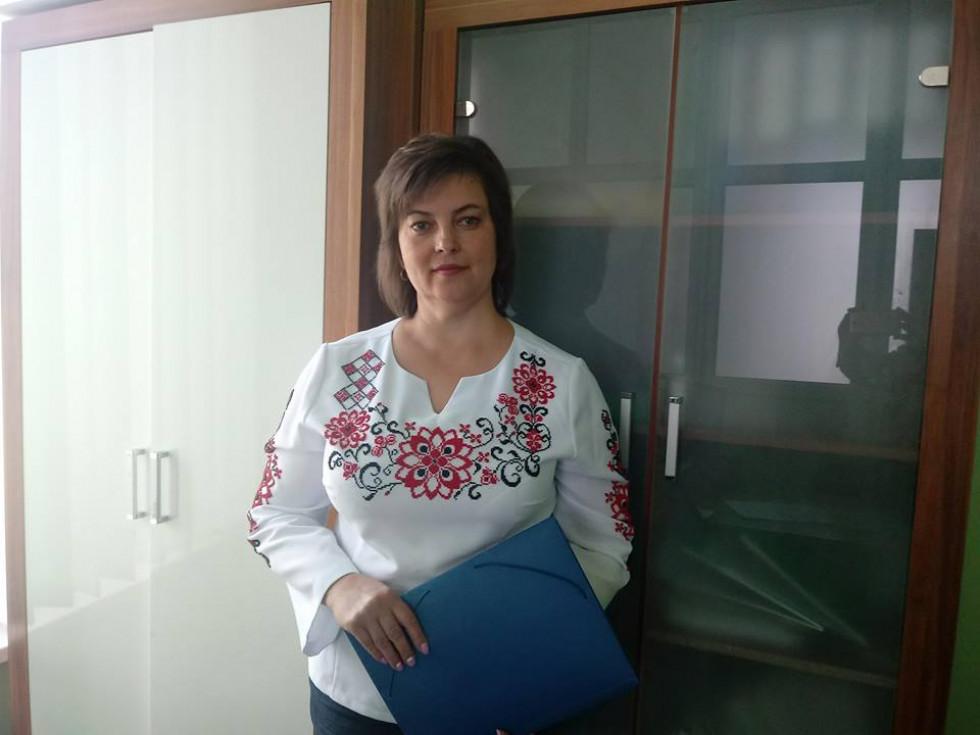 Директор ЦНАП Алла Троць