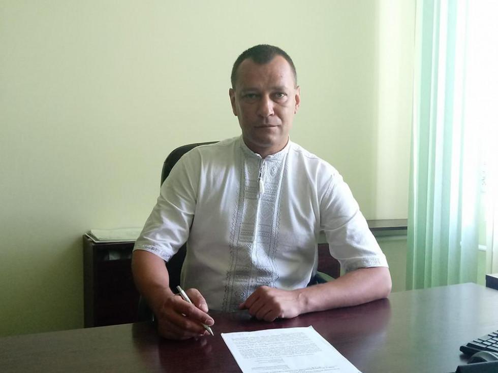 Голова районної ради Роман Гук