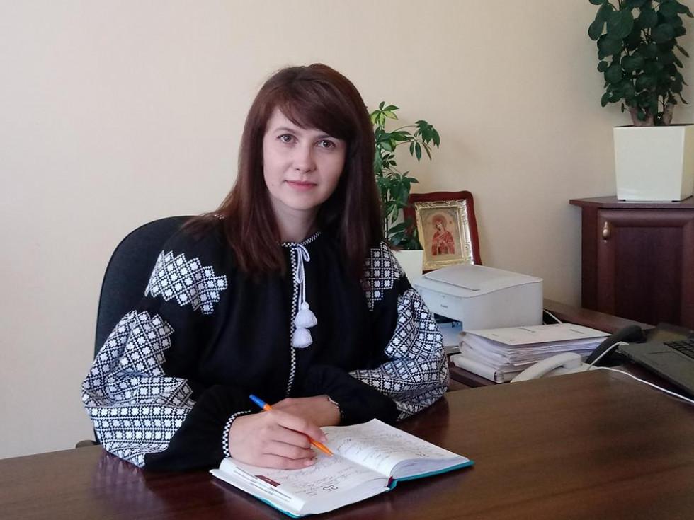 Голова РДА Наталія Василець