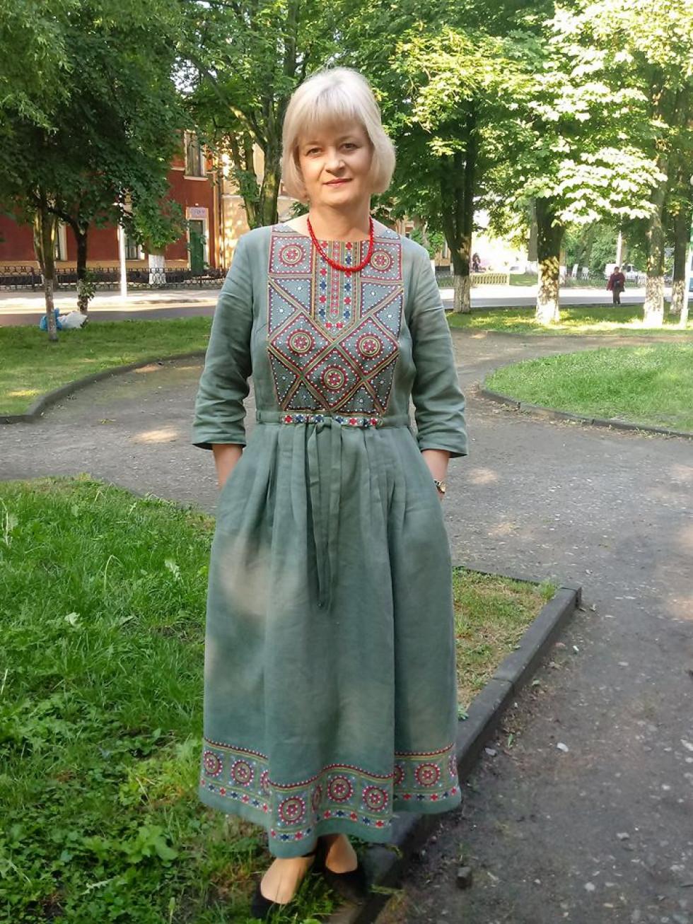 Начальник управління соцзахисту РДА Наталія Голюк
