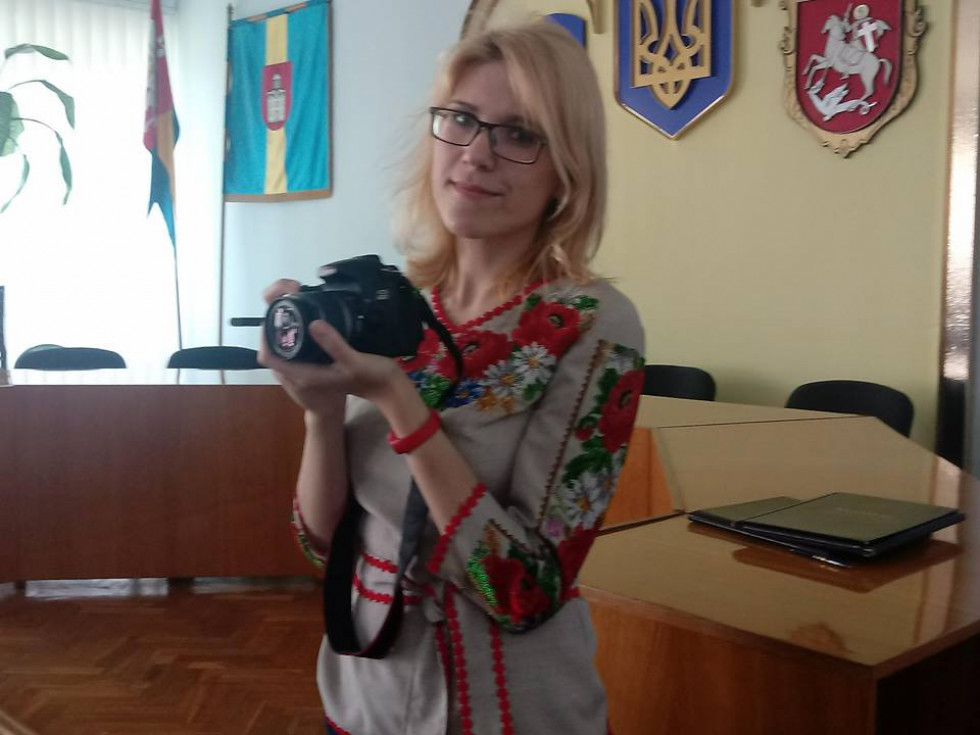 Журналіст видання «БУГ» Дарія Поддубецька