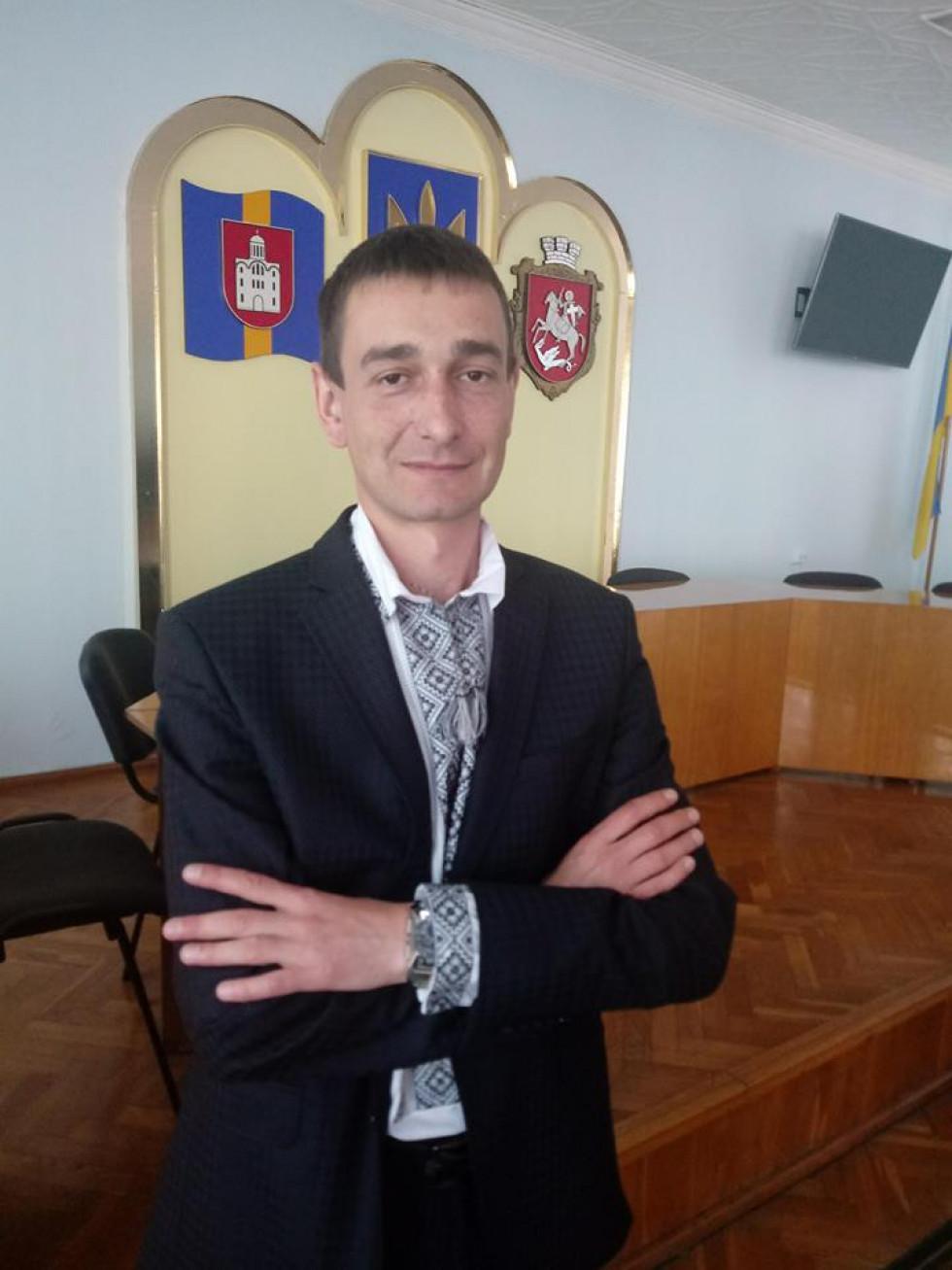 Начальник міського управління соцзахисту населення Олександр Смикалюк