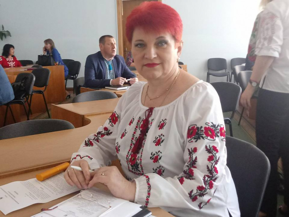 Начальник фінуправління Тетяна Шибирин