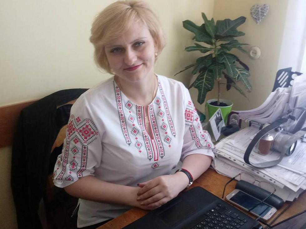 Начальник відділу організаційно-аналітичної роботи Ірина Ліщук