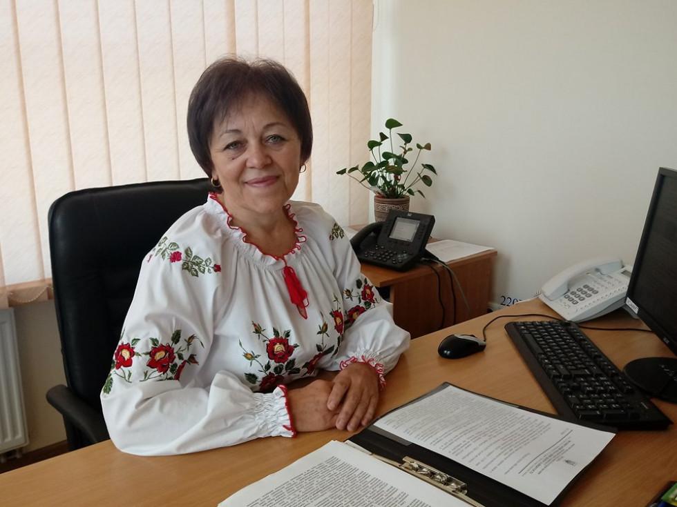 Директор Центру зайнятості Наталія Уколова