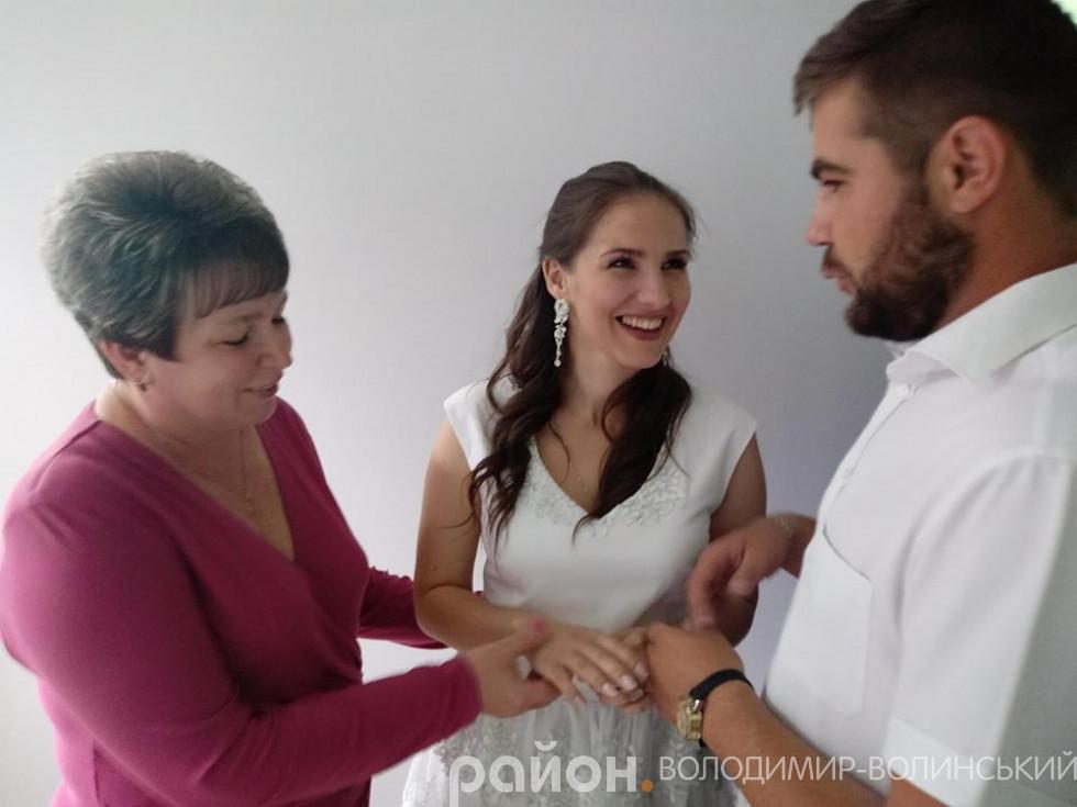 Останні приготування перед шлюбом