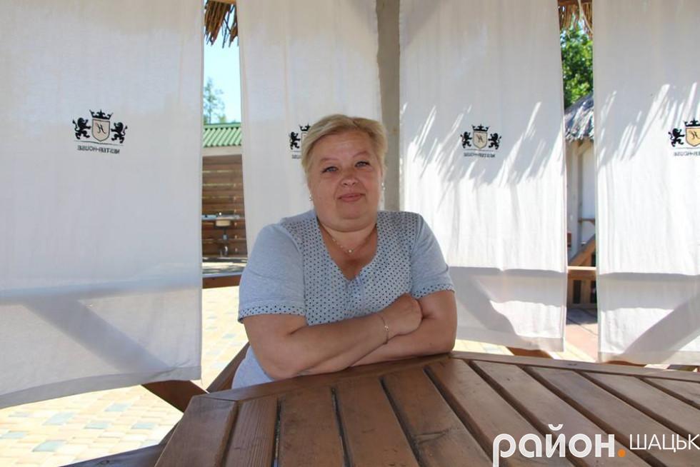 Анна Головіна із Володимира-Волинського вже втретє відпочиває в комфортному маєтку