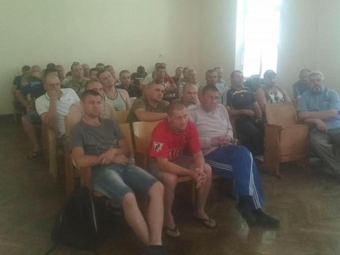 Під час позачергових зборів ГО «Ветеранів Учасників та Інвалідів АТО»