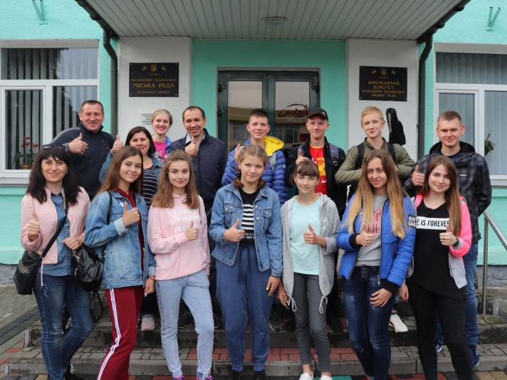 Делегація з числа 10 успішних і талановитих юних жителів Володимира-Волинського відвідає німецьке місто-побратим